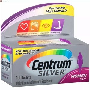 Centrum Silver Women's Vitamin NIB